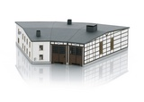 MiniTrix 66340 Rottweil Roundhouse Locomotive Shed Building Kit
