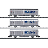 MiniTrix 15282 Sliding Wall Boxcar Set