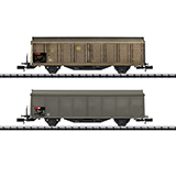 MiniTrix 15307 Type Hbis-v Sliding Wall Boxcar Set