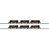 MiniTrix 15410 Set with 6 Stake Cars