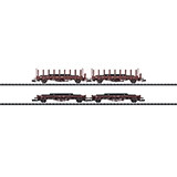 MiniTrix 15411 Set with 4 Stake Cars