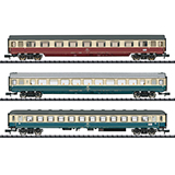 MiniTrix 15460 IC 611 Gutenberg Express Train Passenger Car Set