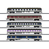 MiniTrix 15473 D 730 Express Train Passenger Car Set