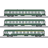 MiniTrix 15502 Express Train Passenger Car Set