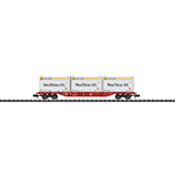 MiniTrix 15519 Container Flat Car