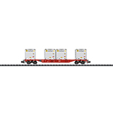 MiniTrix 15530 Container Flat Car