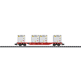 MiniTrix 15531 Container Flat Car