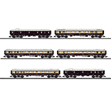 MiniTrix 15539 Rheingold Express Train Passenger Car Set