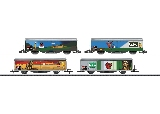 MiniTrix 15610 Type Hbilsvy Sliding Wall Boxcar Set