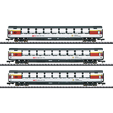MiniTrix 15674 Gotthard Panorama Express Passenger Car Set