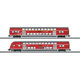 MiniTrix 15776 Hanseatic Express Bi Level Car Set