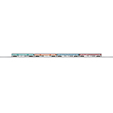 MiniTrix 15806 New Colors Passenger Car Set