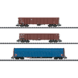 MiniTrix 15869 Modern German Federal Railroad Freight Car Set