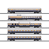 MiniTrix 15870 Rheingold 62 Express Train Passenger Car Set