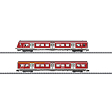 MiniTrix 15890 SBahn Passenger Car Set