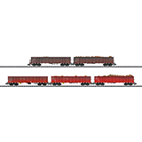 MiniTrix 15993 Scrap Transport Freight Car Set