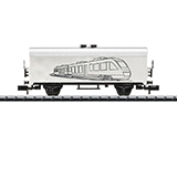 MiniTrix 18086 Hobby Refrigerator Car for Do-Yourself-Painting