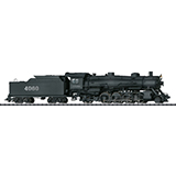 Trix 22591 Mikado Steam Locomotive