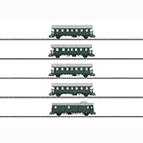 Trix 23308 Passenger Car Set Donnerbuchsen