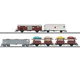 Trix 23567 Freight Car Set for the Class Ce 68 II Switching Crocodile