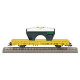 Trix 24080 Grade Measurement Car for H0 Gauge