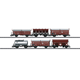 Trix 24243 DB AG type Rlmmps 651 heavy-duty flat car