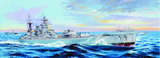 Trumpeter 03708 HMS Nelson 1944