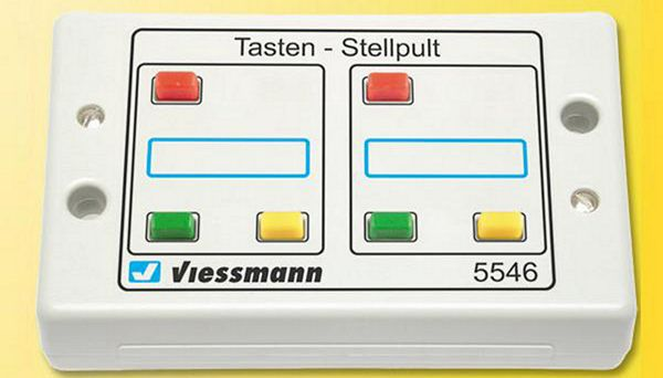 Viessmann 5546 Push Button Panel