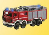 Viessmann 1125 H0 Fire engine with 3 blue lights functional model