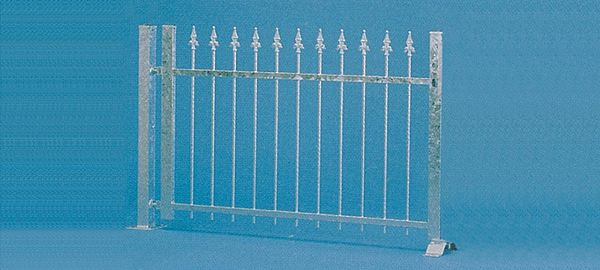 Vollmer 45008 Iron Fence Alucoloured 190 cm