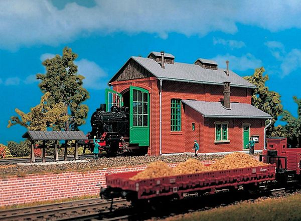 Vollmer 49110 Engine shed single track