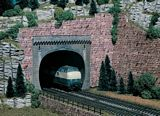 Vollmer 42502 Tunnel portal 2 Roads