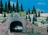 Vollmer 42503 Tunnel portal 2 Roads
