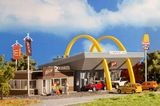 Vollmer 43635 McDonalds Restaurant with McCafe