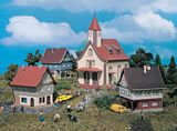 Vollmer 49555 Village Set with Church