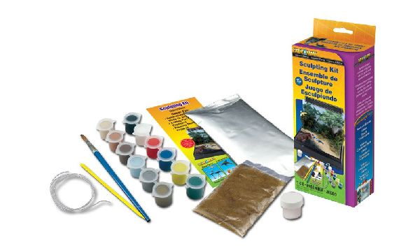 Woodland Scenics 4131 Scene A Rama Sculpting Kit