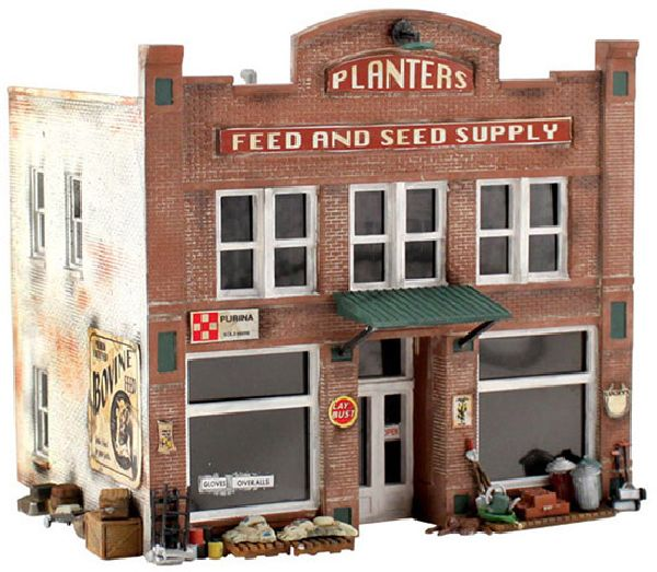 Woodland Scenics 5181 Planters Feed and Seed Supply