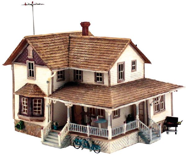 Woodland Scenics 5196 Corner Porch House