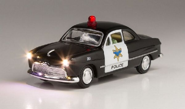 Woodland Scenics 5593 Police Car with LED