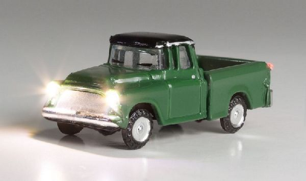 Woodland Scenics 5610 Green Pickup with LED