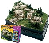Woodland Scenics 4111 Scene A Rama Mountain Diorama Kit