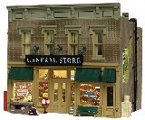 Woodland Scenics 5021 Lubeners Gral Store Assembled
