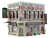 Woodland Scenics 5024 Corner Emporium Built And Ready Landmark Structures Assembled