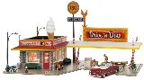 Woodland Scenics 5029 Drive n Dine Built And Ready Landmark Structures Assembled