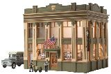 Woodland Scenics 5033 Citizens Savings And Loan Built And Ready Landmark Structures Assembled
