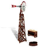 Woodland Scenics 5043 Windmill Built And Ready Landmark Structures Assembled