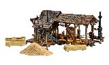 Woodland Scenics 5044 Buzzs Sawmill Built And Ready Landmark Structures Assembled