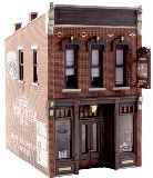 Woodland Scenics 5049 Sullys Tavern Built And Ready Landmark Structures Assembled