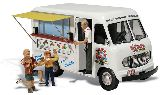 Woodland Scenics 5338 Ikes Ice Cream Truck Assembled AutoScenes